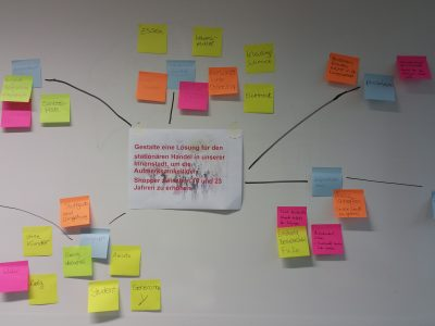 Design Thinking mit Studierenden