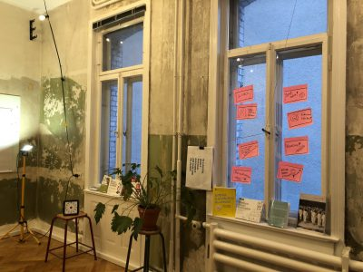 Mein neuer Workshop-Raum!