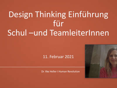Design Thinking als Ansatz zur Schulentwicklung