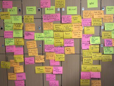 Design Thinking Workshop für LehrerInnen und SchülerInnen, 24.2.21